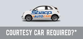 courtesy car options