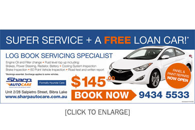 Super car service offer Bibra Lake
