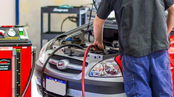 Car servicing at Sharp Autocare Bibra Lake, Perth