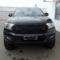 Ford Everest upgrade, rims, lift kit, flairs, raptor grill