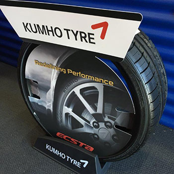 We stock kumho high performance tyres