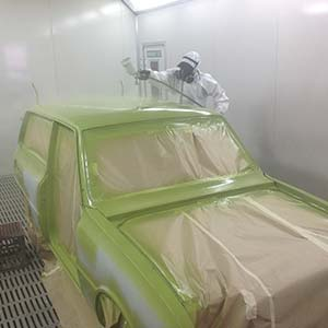 The restoration of Mazda 1600