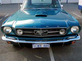 Mustang custom paint respray