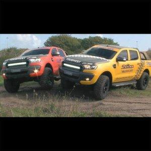 Sharp Autocare Ford Ranger paint job