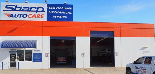 Sharp Autocare shop front