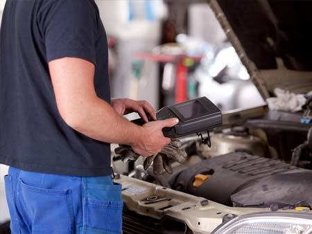 Vehicle diagnostic check specific to your vehicle