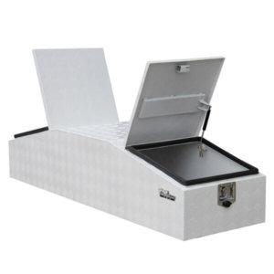 Aluminium gull wing Aluminium Gul truck box - 1770mm x 550mm x 400mm