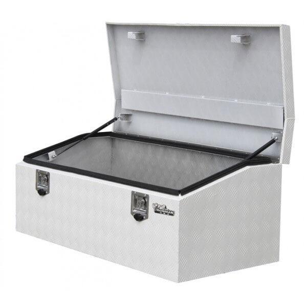 Aluminium low profile tool box - 1250mm x 600mm x 500mm