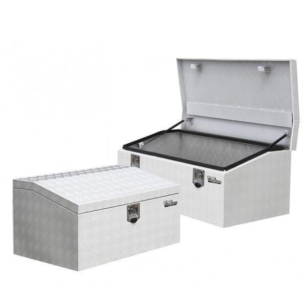 Low profile aluminium tool boxes