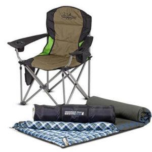 Camp Chairs & Sleeping