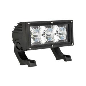 Modular LED lightbar flood beam 30w 180mm (3 x 10W LED, 2.5A)