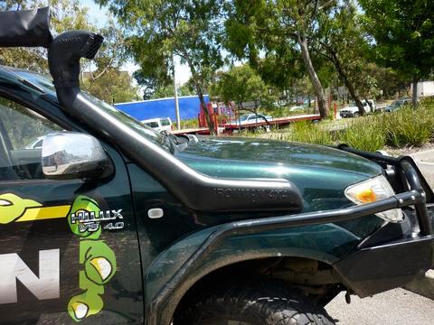 Snorkel for Toyota Hilux 3.0L D4D TDi / 4.0L Petrol V6 Snorkel 2005+