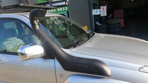 Snorkel for Toyota Prado 120 Series 3.0 litre diesel - Ironman 4x4
