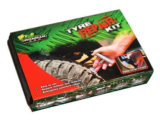 Tyre repair kit boxed item - Ironman 4x4