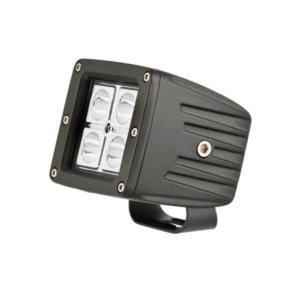 80mm Universal LED square light 16W (4 x 4W LED, 1.3A) - Ironman 4x4